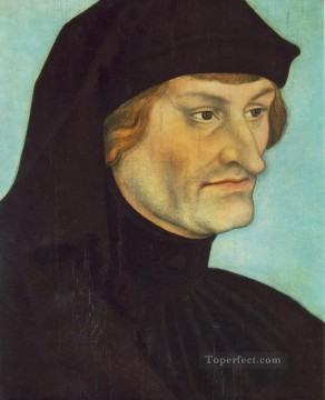Portrait Of Johannes Geiler Von Kaysersberg Renaissance Lucas Cranach the Elder Oil Paintings