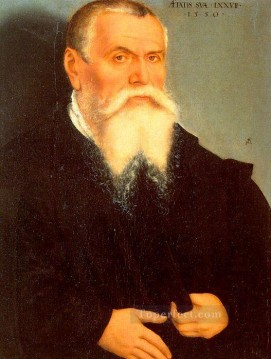 Lucas Cranach the Elder Painting - Self Portrait Renaissance Lucas Cranach the Elder