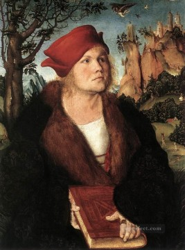 Lucas Cranach the Elder Painting - Portrait Of Dr Johannes Cuspinian Renaissance Lucas Cranach the Elder
