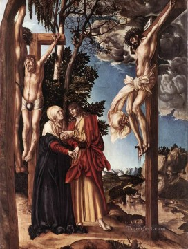 Crucifixion Renaissance Lucas Cranach the Elder Oil Paintings