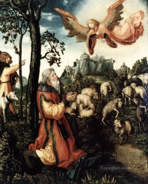 The Annunciation To Joachim Lucas Cranach the Elder Oil Paintings