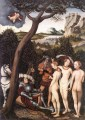 The Judgment Of Paris 1528 Lucas Cranach the Elder