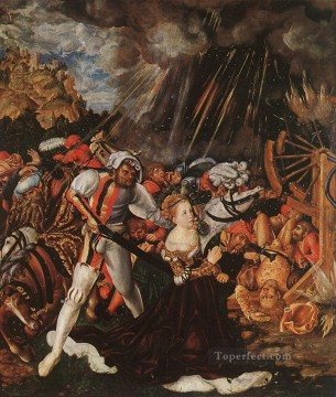 The Martyrdom Of St Catherine Lucas Cranach the Elder Oil Paintings