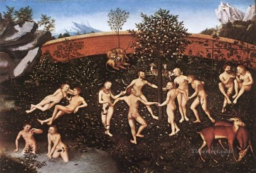 Lucas Cranach the Elder Painting - The Golden Age Lucas Cranach the Elder