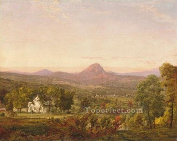 Jasper Francis Cropsey Painting - Autumn Landscape Jasper Francis Cropsey