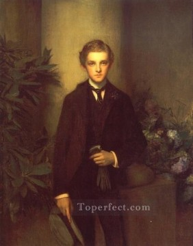 Pascal Dagnan Bouveret Painting - Portrait of Childs Frick Pascal Dagnan Bouveret