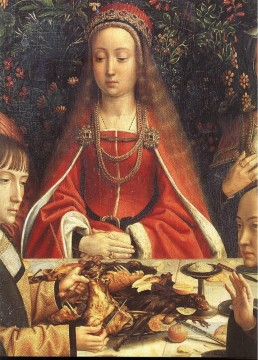 David Gerard Painting - the marriage at cana2wga Gerard David