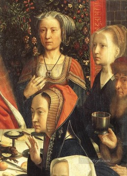 David Gerard Painting - the marriage at cana3wga Gerard David