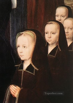 David Gerard Painting - triptych of jean des trompes3wga Gerard David