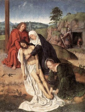 David Gerard Painting - Lamentation Gerard David
