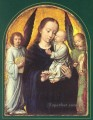 Mary and Child with two Angels Making Music Gerard David