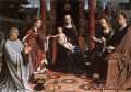 The Mystic Marriage of St Catherine Gerard David