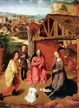 Nativity Art - The Nativity 1 Gerard David