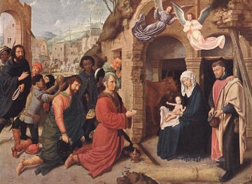 Adoration Art - Adoration of the Magi Gerard David