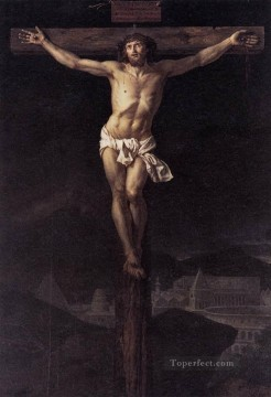 Classicism Painting - Christ on the Cross Neoclassicism Jacques Louis David