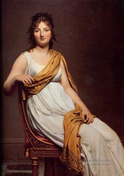 Madame Raymond de Verninac Neoclassicism Jacques Louis David Oil Paintings