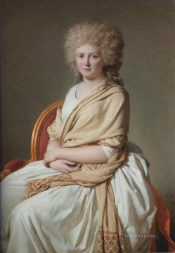 Portrait of Anne Marie Louise Thelusson Neoclassicism Jacques Louis David Oil Paintings