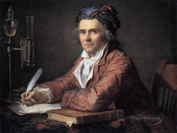 Portrait of Doctor Alphonse Leroy Neoclassicism Jacques Louis David Oil Paintings