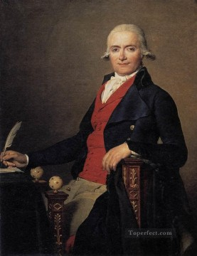Portrait of Gaspar Mayer Neoclassicism Jacques Louis David Oil Paintings