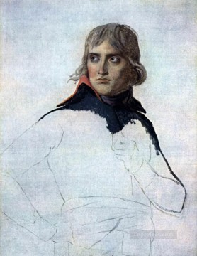 Portrait of General Bonaparte Neoclassicism Jacques Louis David Oil Paintings