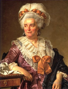 Portrait of Genevieve Jacqueline Pecoul Neoclassicism Jacques Louis David Oil Paintings