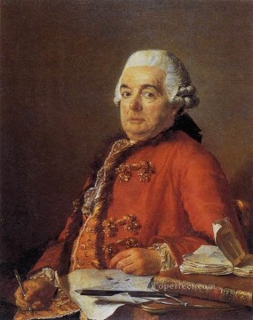 Portrait of Jacques Francois Desmaisons Neoclassicism Jacques Louis David Oil Paintings