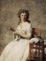 Portrait of Madame Adelaide Pastoret Neoclassicism Jacques Louis David