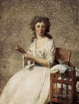 Portrait of Madame Adelaide Pastoret Neoclassicism Jacques Louis David Oil Paintings