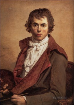 Self Portrait Neoclassicism Jacques Louis David Oil Paintings
