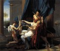 Sappho and Phaon Neoclassicism Jacques Louis David