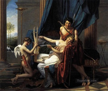 classicism Painting - Sappho and Phaon Neoclassicism Jacques Louis David