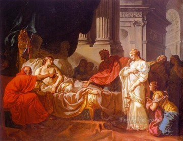 Antiochus and Stratonice Neoclassicism Jacques Louis David Oil Paintings