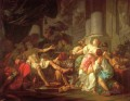 The Death of Seneca Neoclassicism Jacques Louis David
