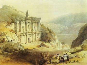 Artworks by 350 Famous Artists Painting - petra el deir David Roberts