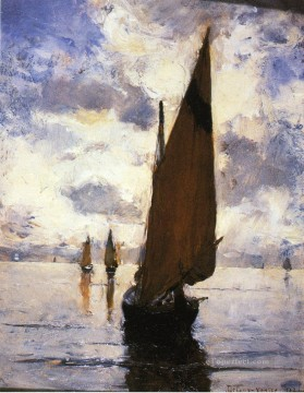 Venice aka Becalmed Joseph DeCamp Oil Paintings