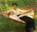 The Hammock Tonalism painter Joseph DeCamp