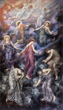 Kingdom of Heaven Pre Raphaelite Evelyn De Morgan Oil Paintings