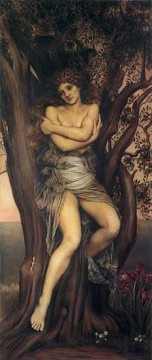 Dryad Pre Raphaelite Evelyn De Morgan Oil Paintings