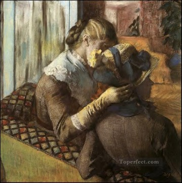 At the Milliner s Edgar Degas Oil Paintings