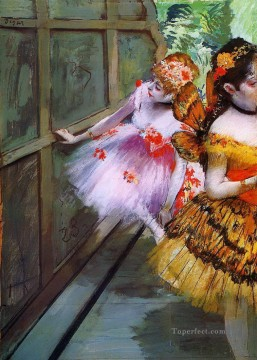 ballet Painting - Ballet Dancers in Butterfly Costumes 1880 Edgar Degas
