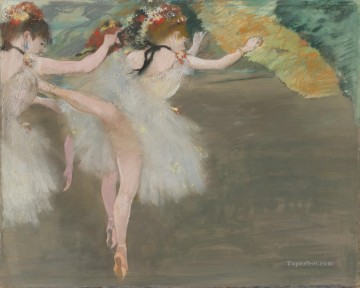 DANSEUSES EN BLANC Edgar Degas Oil Paintings