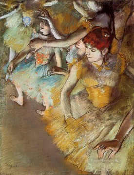 Edgar Degas Painting - Degas Ballet Dancers on the Stage Edgar Degas