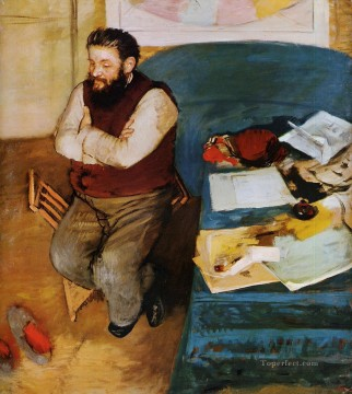 Diego Martelli Edgar Degas Oil Paintings