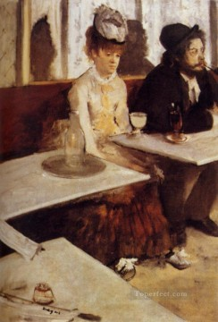 The Absinthe Drinker Edgar Degas Oil Paintings