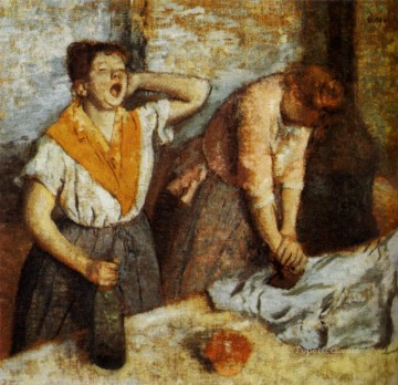Woman Ironing 1884 Edgar Degas Oil Paintings