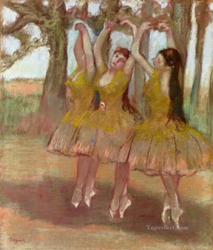 a grecian dance 1890 Edgar Degas Oil Paintings