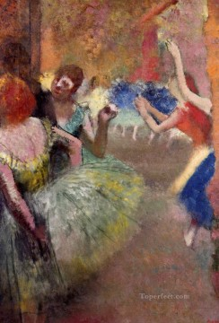 ballet scene 1 Edgar Degas Oil Paintings