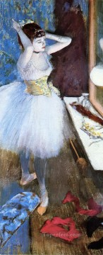 Edgar Degas Painting - dancer in her dressing room Edgar Degas
