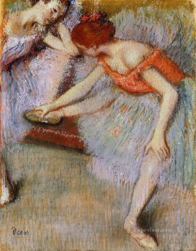 Edgar Degas Painting - dancers 1895 Edgar Degas