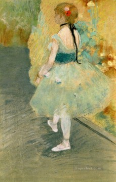 Edgar Degas Painting - little dancer Edgar Degas